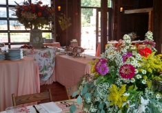 8.29.15 Head Table and Buffet